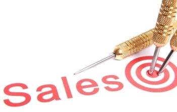 raggiungere gli obiettivi di vendita