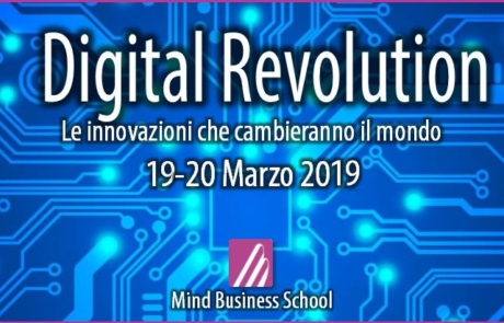 "Slide MBS ""Digital Revolution"" 19 e 20 Marzo 2019"